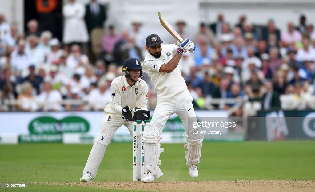 England v India: Specsavers 3rd Test - Day Three : News Photo