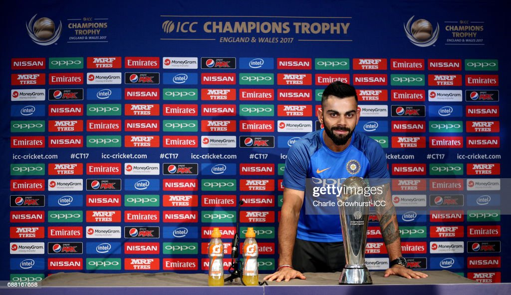 The ICC Champions Trophy - India Press Conference