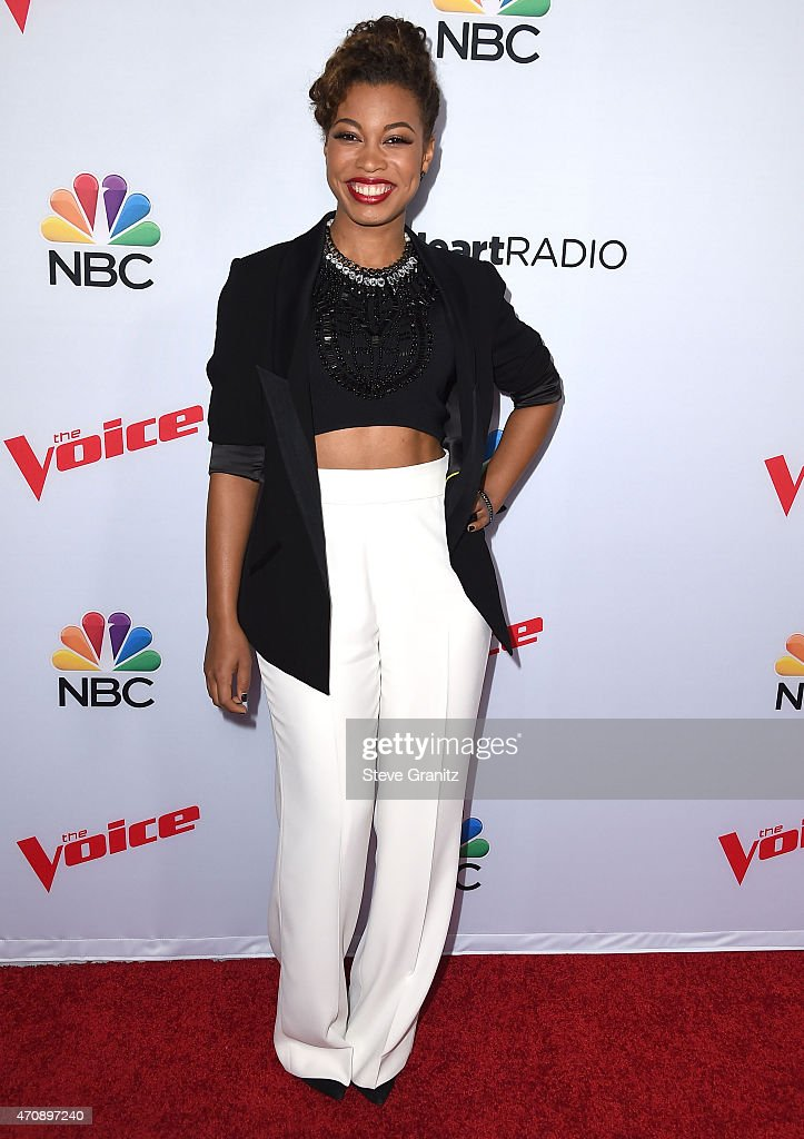 NBC's 'The Voice' Season 8 Red Carpet Event : News Photo