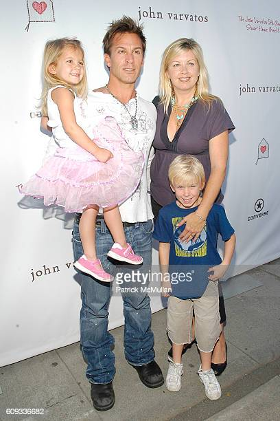 India Cortese Dan Cortese Dee Dee Hemby and Roman Cortese attend Hollywood and Fashion Support the 5th Annual John Varvatos Stuart House Benefit at...