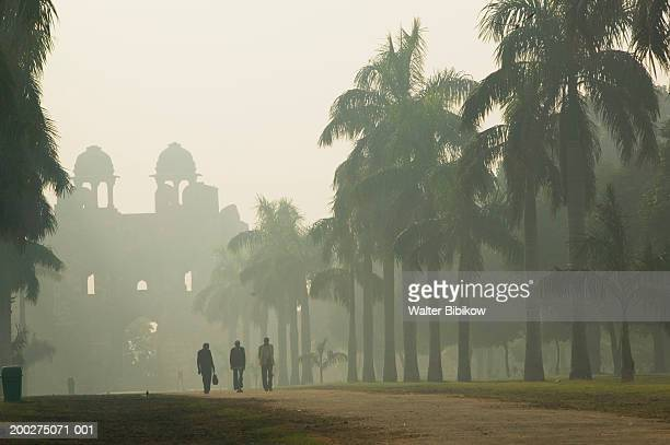 India, Delhi, Central Delhi, Purana Qila, morning