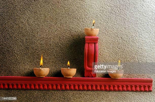 India Diwali Festival Diyas