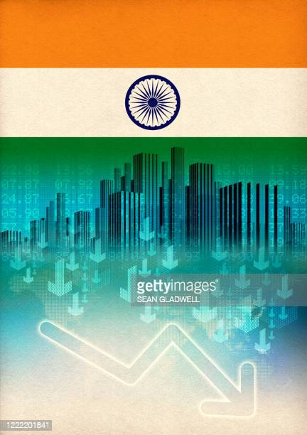 india downturn - india stock pictures, royalty-free photos & images