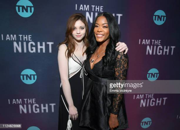 India Eisley and Golden Brooks attends the I Am The Night Los Angeles Premiere on January 24 2019 in Los Angeles California 484213