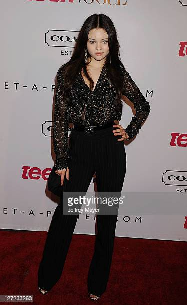India Eisley arrives at the 9th Annual Teen Vogue Hollywood Party at Paramount Studios on September 23 2011 in Los Angeles California