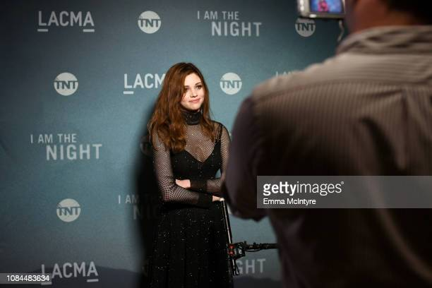 India Eisley attends the 'I Am the Night' screening at LACMA on January 17 2019 in Los Angeles California 484150