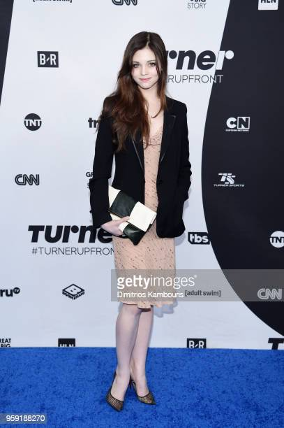 India Eisley attends the Turner Upfront 2018 arrivals on the red carpet at The Theater at Madison Square Garden on May 16 2018 in New York City 376263