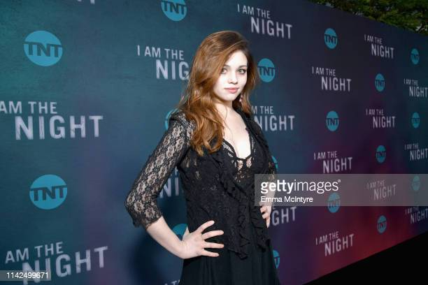 India Eisley attends TNT's I Am The Night FYC Event on May 9 2019 in North Hollywood California