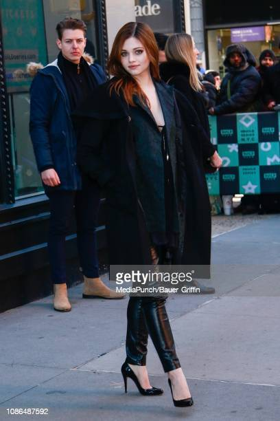 India Eisley is seen on January 22 2019 in New York City
