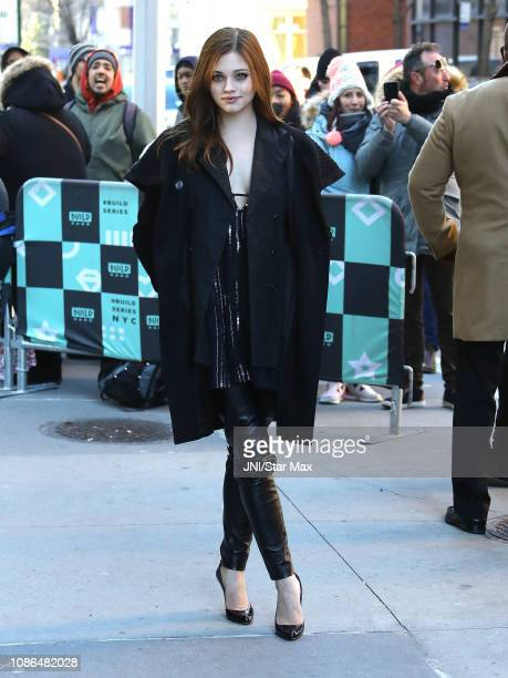 India Eisley seen on January 22 2019 in New York City
