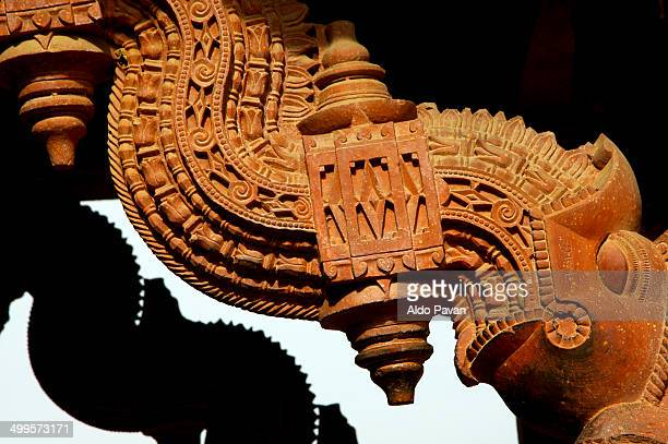 india, fatehpur sikri, construction detail - fatehpur sikri stock pictures, royalty-free photos & images