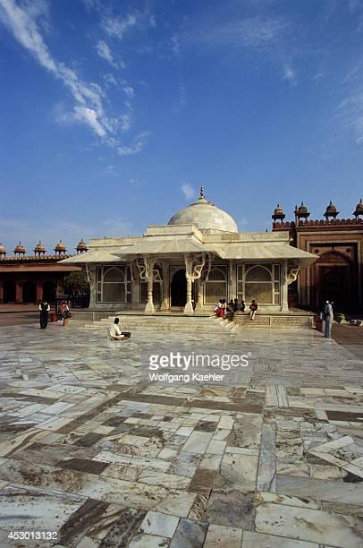 India Fatehpur Sikri Mosque Tomb Of Sheikh Saleem Chisti