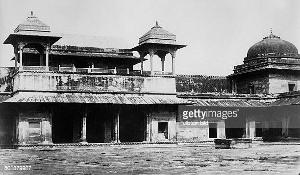 India, Fatehpur Sikri, Palace of Jodha Bai . - probably in the 1910s