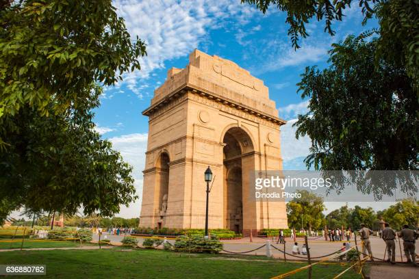 india gate, new delhi, india, asia - delhi stock pictures, royalty-free photos & images