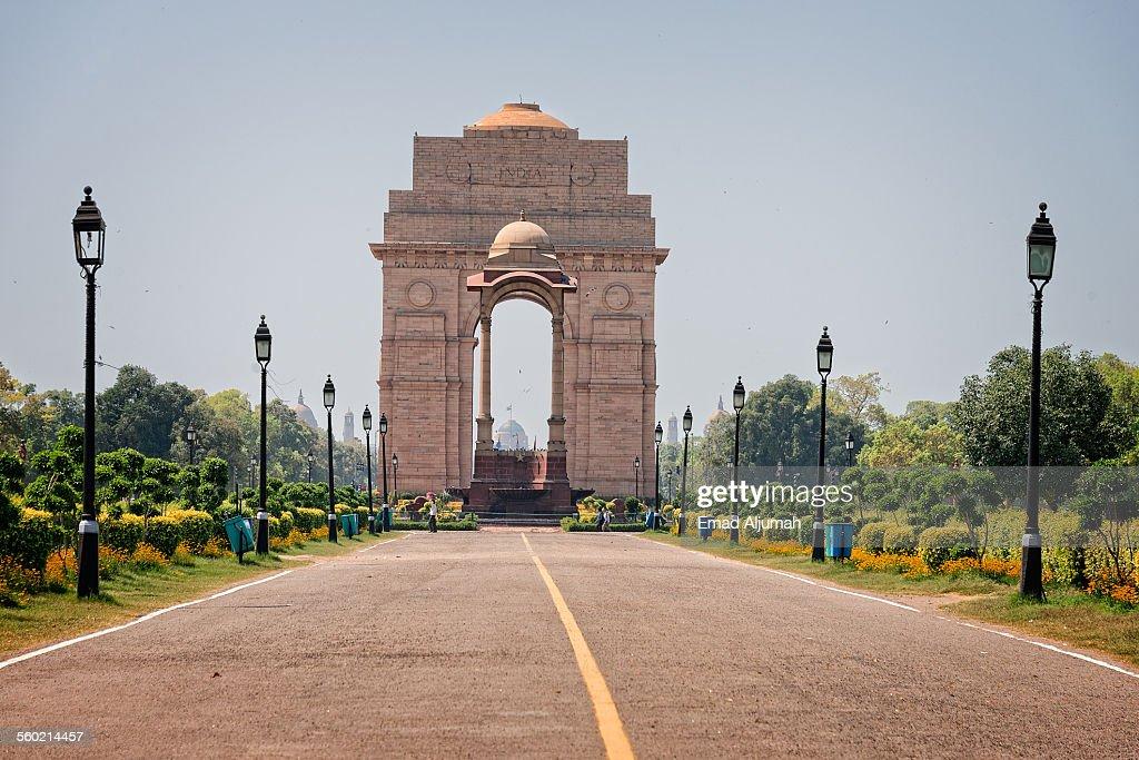 India Gate, New Delhi, India : Stock Photo