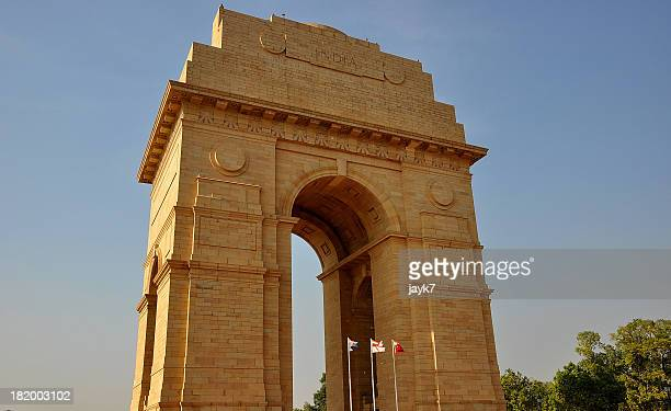 india gate, new delhi - india gate stock pictures, royalty-free photos & images