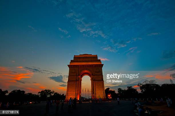 india gate new delhi - india gate stock pictures, royalty-free photos & images
