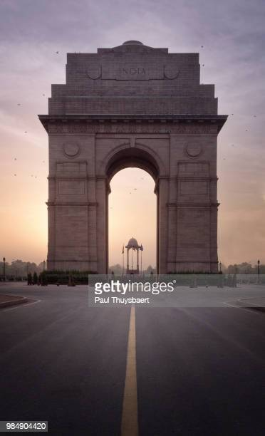 india gate - india gate stock pictures, royalty-free photos & images