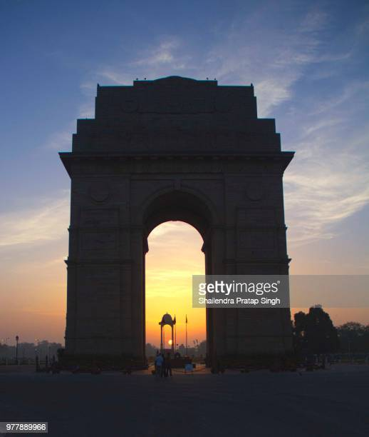 India Gate- Sunrise.