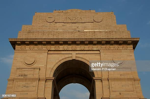 "india gate war memorial, rajpath, delhi, india - india ""malcolm p chapman"" or ""malcolm chapman"" ストックフォトと画像"