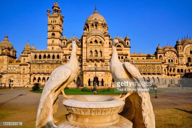 india, gujarat, baroda or vadodara, lakshmi vilas palace - palace stock pictures, royalty-free photos & images