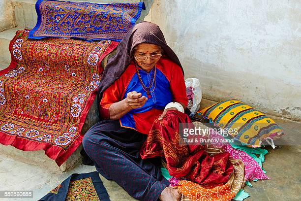 india, gujarat, kutch, ahir ethnic group - gujarat stock pictures, royalty-free photos & images