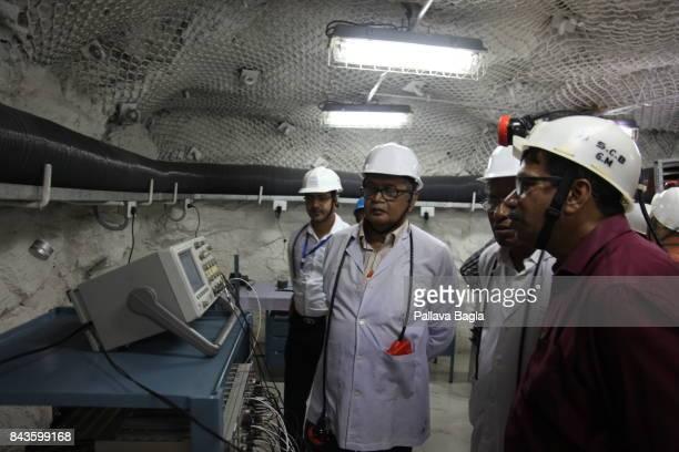 JADUGODA JHARKAHND INDIA SEPTEMBER 02 India has inaugurated its deepest underground lab located half a kilometre below the surface called Jadugoda...