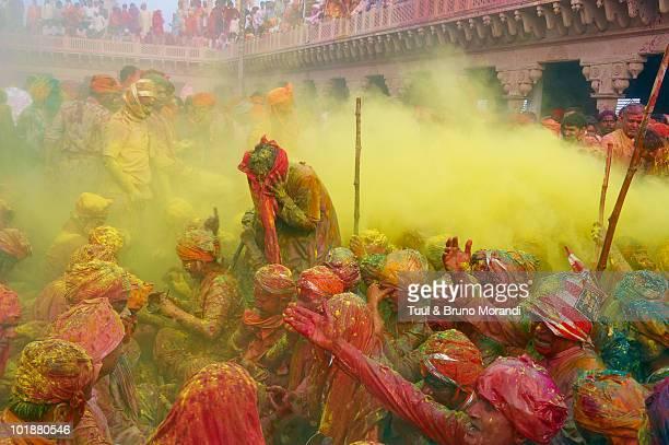 India, Holi festival, color and spring festival
