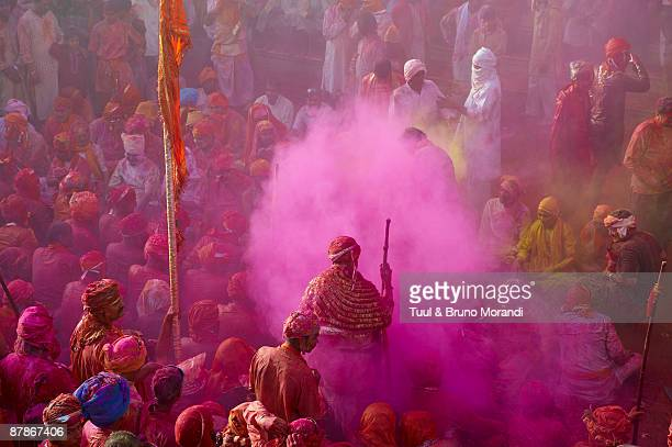 India, Holi festival, color and spring festival.