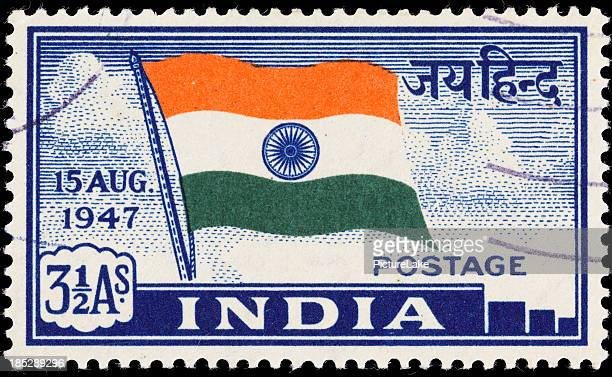 India Indian flag postage stamp