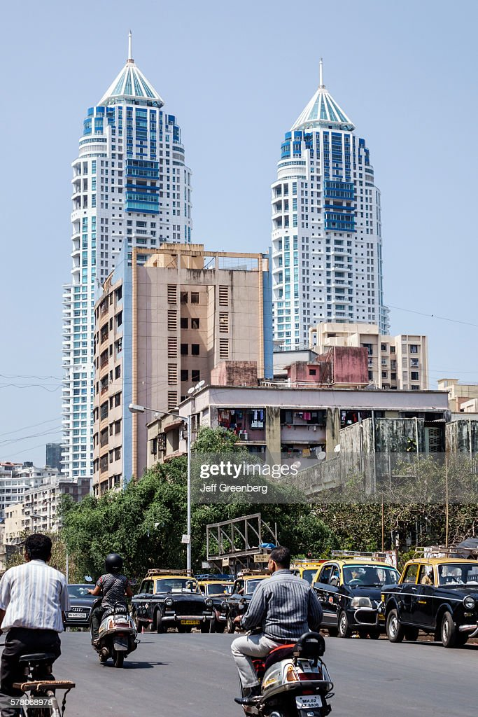 The imperial twin towers condominiums high rise traffic pictures india indian mumbai tardeo jehangir boman behram road architect hafeez contractor tallest building the imperial twin altavistaventures Choice Image