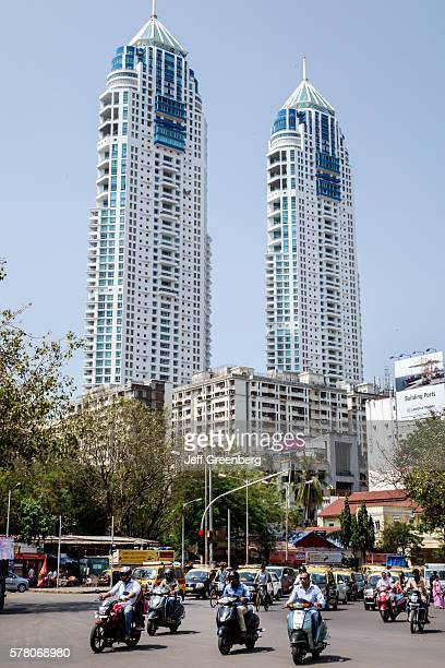 India Indian Mumbai Tardeo Jehangir Boman Behram Road architect Hafeez Contractor tallest building The Imperial Twin Towers residential condominiums...