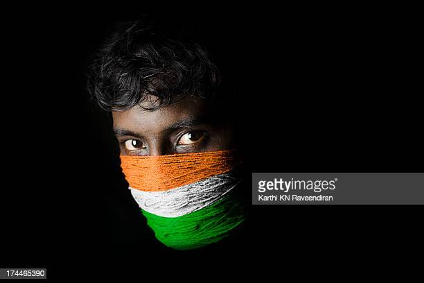 india indépendance - indian flag stock pictures, royalty-free photos & images