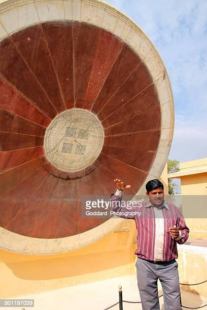 インド:ジャンタルマンタルで、ジャイプール - ジャンタルマンタル ストックフォトと画像