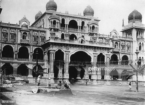 Palace of Mysore probably in the 1910s