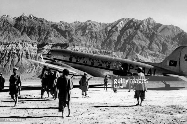 India. Kashmir. Food supplies to Skardu in the region of balkistan. 1956.
