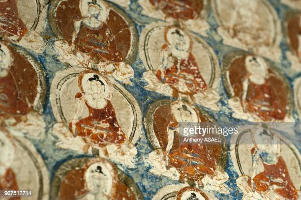 India Ladakh Alchi buddhist wall paintings