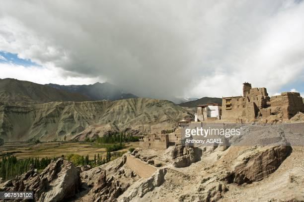 India Ladakh Basgo Basgo Gompa