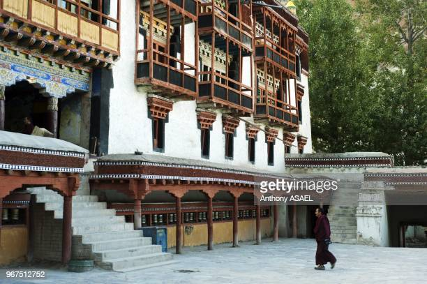 India Ladakh Hemis Hemis Monastery constructed out of wood