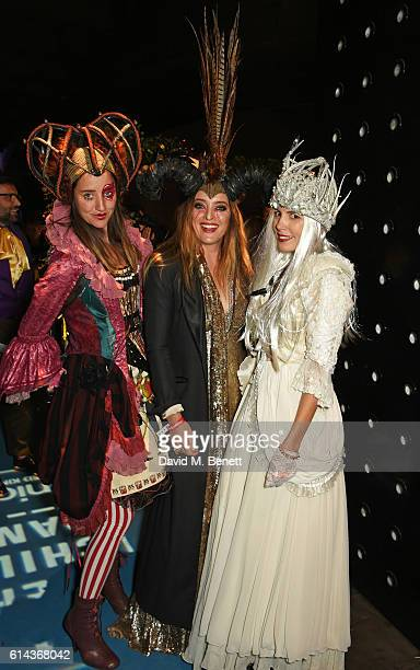 India Langton Alice Temperley and Amanda Sheppard attend the Unicef UK Halloween Ball raising vital funds to support Unicef's lifesaving work for...