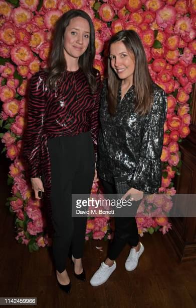 India Langton and Amanda Sheppard attend a private dinner hosted by Michael Kors to celebrate the new Collection Bond St Flagship Townhouse opening...