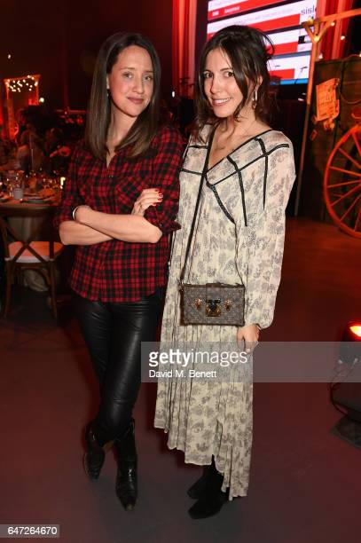 India Langton and Amanda Sheppard attend at a Night of Country at The Roundhouse on March 2 2017 in London England