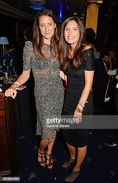India Langton and Amanda Sheppard attend The Hoping Foundation's 'Starry Starry Night' Benefit Evening for Palestinian Refugee Children at Cafe de...