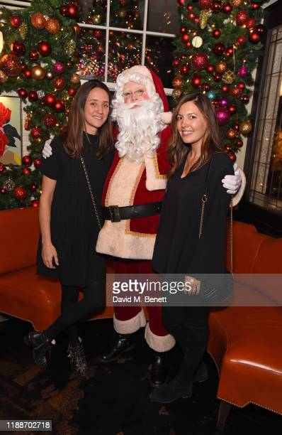 India Langton and Amanda Sheppard attend the launch of Miracle at 34 the festive installation at 34 Mayfair on November 19 2019 in London England