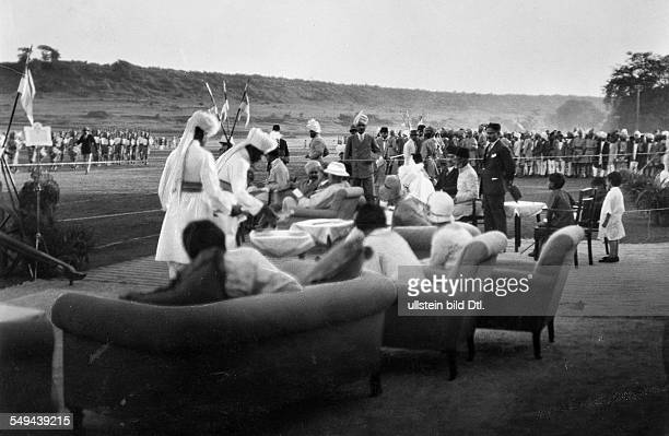 India Madhya Pradesh Bhopal The nobility of Bhopal celebrationg an event - 1930 - Photographer: Emil Otto Hoppe - Published by: 'Die Dame' 23/1930...