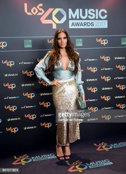 India Martinez attends 40 Principales Awards candidates dinner 2017 on September 14 2017 in Madrid Spain