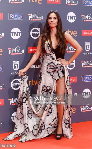 India Martinez attends Platino Awards 2017 at La Caja Magica on July 22 2017 in Madrid Spain