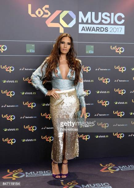 India Martinez attends the 40 Principales Awards Nominated Dinner at the Florida Retiro on September 14 2017 in Madrid Spain