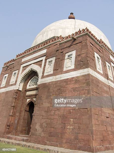 India, New Delhi, Tughlaqabad Fort, Early 14Th Century, The 14Th Century Tomb Of Ghiyasuddin, Who Built Tughlaqabad Fort.