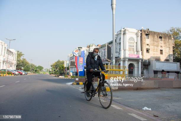India observed countrywide lockdown to practice social distancing in response to curb the outbreak of Corona virus in India on March 22 2020 India...